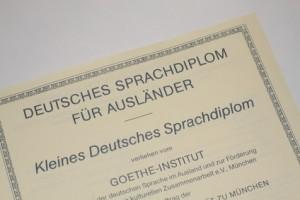 Sprachdiplom Goethe Institut