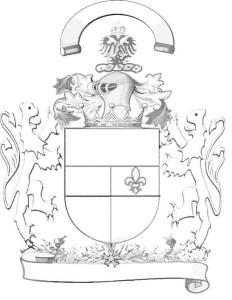 Blasionierung, Wappen Aufbau